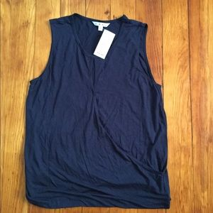 CAbi sleeveless crossover